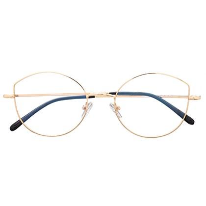 Armação de óculos de grau - Malévola Two - Dourado