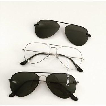 Armação de óculos de grau - Malibu - Prata