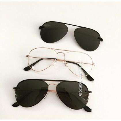 Armação de óculos de grau - Malibu - Rose Gold