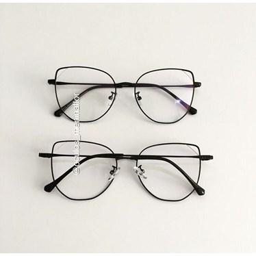 Armação de óculos de grau - Malvina - Preto