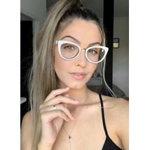Armação de óculos de grau - Manie Marrie - Branco