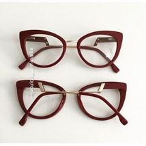 Armação de óculos de grau - Manie Marrie - Vinho
