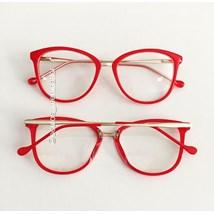 Armação de óculos de grau - Manu - Vermelho