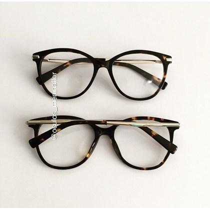 Armação de óculos de grau - Manuela 10067 - Animal print