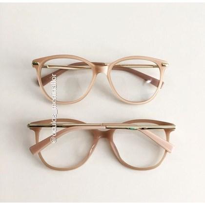 Armação de óculos de grau - Manuela 10067 - Rose
