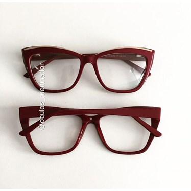 Armação de óculos de grau - Maressa - Bordo