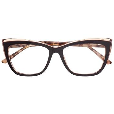 Armação de óculos de grau - Maressa - Marrom