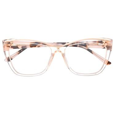 Armação de óculos de grau - Maressa - Rose transparência