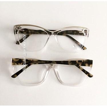 Armação de óculos de grau - Maressa - Transparente