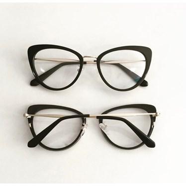 Armação de óculos de grau - Marrie 3711- Preto