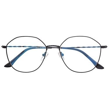 Armação de óculos de grau - Marselha 9721 - Preto