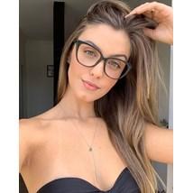 Armação de óculos de grau - Maud - Preto