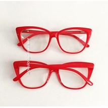Armação de óculos de grau - Maud - Vermelho