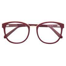 Armação de óculos de grau - Megan - Bordo