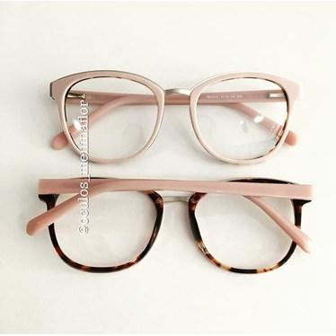 Armação de óculos de grau - Megan - Rose