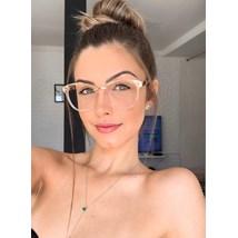 Armação de óculos de grau - Megan - Rose transparência