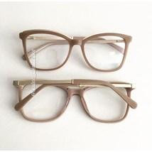 Armação de óculos de grau - Megan Two - Nude Chocolate