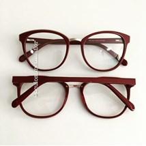 Armação de óculos de grau - Megan - Vinho
