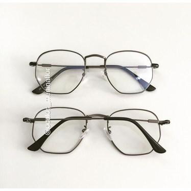 Armação de óculos de grau - Melanie 2844 - Gráfite