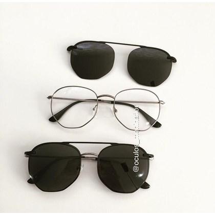 Armação de óculos de grau - Melanie 3.0 - Gráfite C4