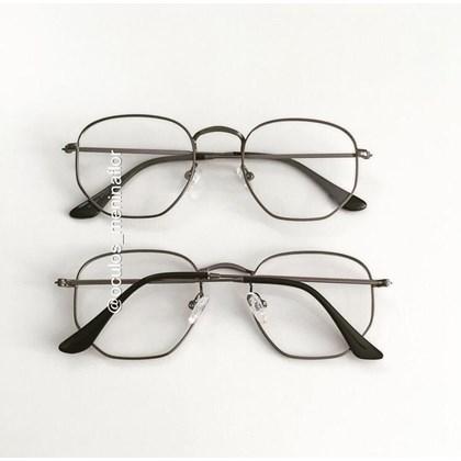 Armação de óculos de grau - Melanie 3041- Gráfite