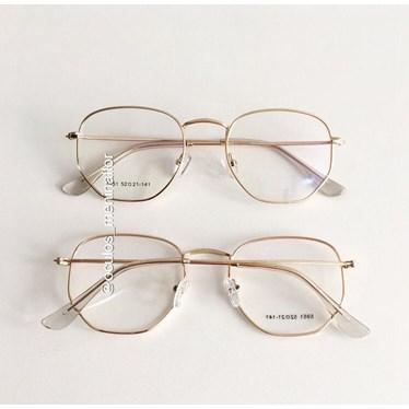 Armação de óculos de grau - Melanie 5951 - Dourado