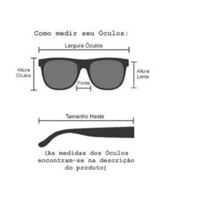 Armação de óculos de grau - Melanie OM88017 - Preto