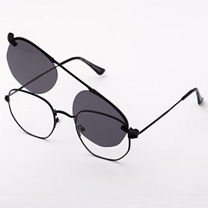Armação de óculos de grau - Melanie - Preto