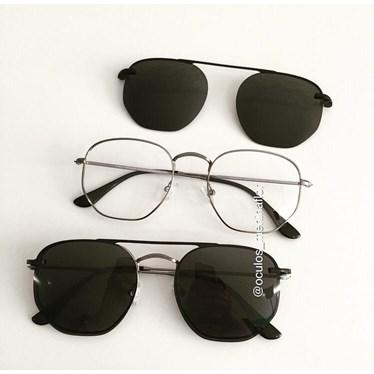 Armação de óculos de grau - Melanie Two - Grafite