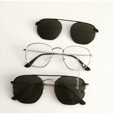 Armação de óculos de grau - Melanie Two - Prata