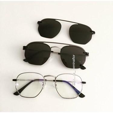 Armação de óculos de grau - Melanie versão 2.0 - Prata