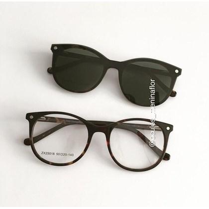 Armação de óculos de grau - Menina Solta 25018 - Animal print