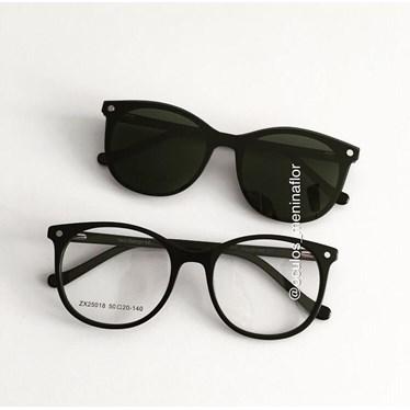 Armação de óculos de grau - Menina Solta 25018 - Preto