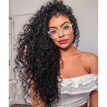 Armação de óculos de grau - Mileni - Branca
