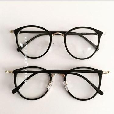 Armação de óculos de grau - Mileni - Preto