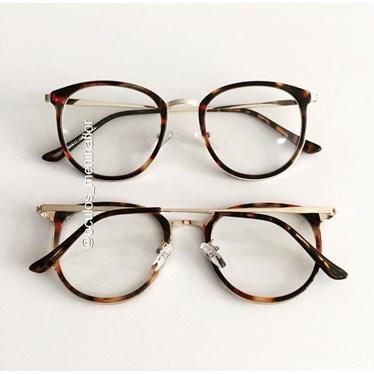 Armação de óculos de grau - Mileni Two - Animal print