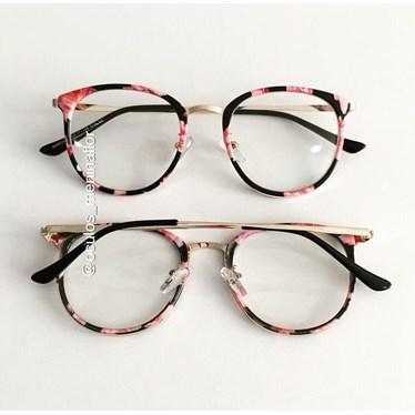 Armação de óculos de grau - Mileni Two - Floral