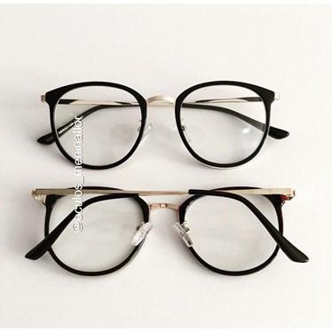 Armação de óculos de grau - Mileni Two - Preto