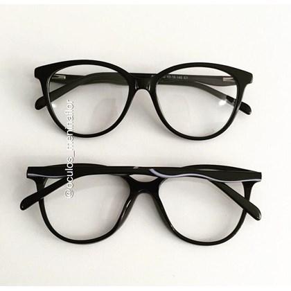 Armação de óculos de grau - Milk - Preto