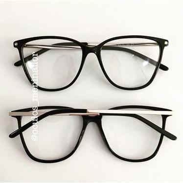 Armação de óculos de grau - Milla - Preto