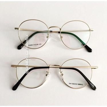 Armação de óculos de grau - Miny - Dourado