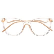 Armação de óculos de grau - Moana - Dourado transparente