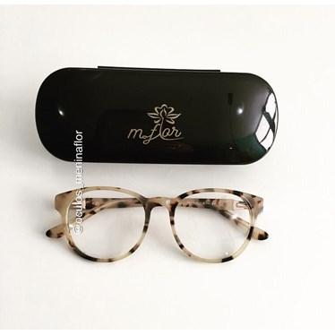 Armação de óculos de grau - Modelo 8011 - Animal print