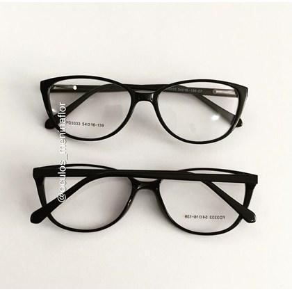Armação de óculos de grau - Molly 2.0 - Preto