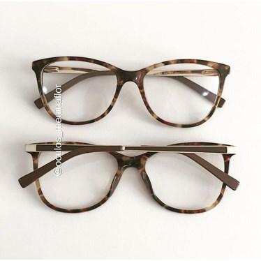 Armação de óculos de grau - Munik - Animal print