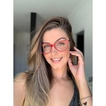 Armação de óculos de grau - Munik - Vermelho