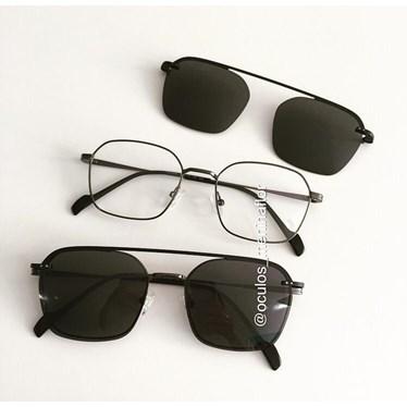 Armação de óculos de grau - Muriel - Grafite