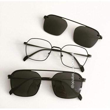 Armação de óculos de grau - Muriel - Preto