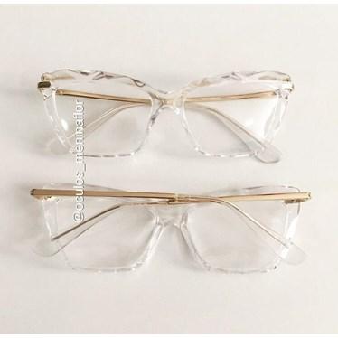 Armação de óculos de grau - Nala - Transparente