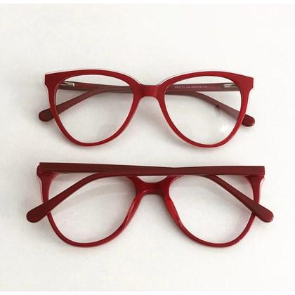 Armação de óculos de grau - Pamela 2181 - Vermelho